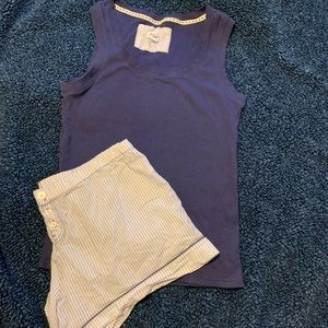 Lucky Brand  pajama short set.